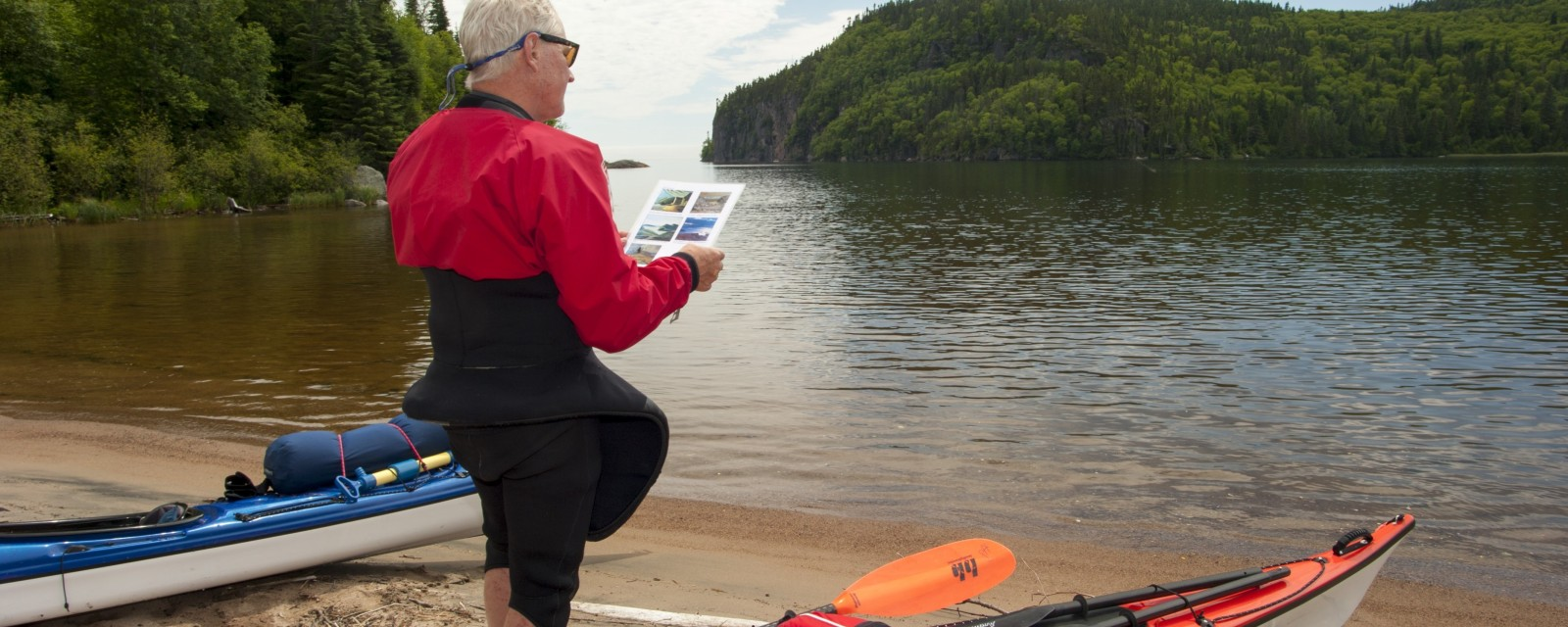 Guided Sea Kayak Trip - Rossport to Pukaskwa: Group of Seven Landscapes
