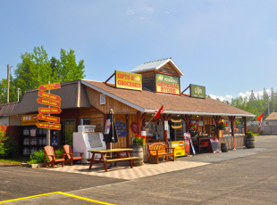 Trading Post at Voyageurs' Lodge & Cookhouse